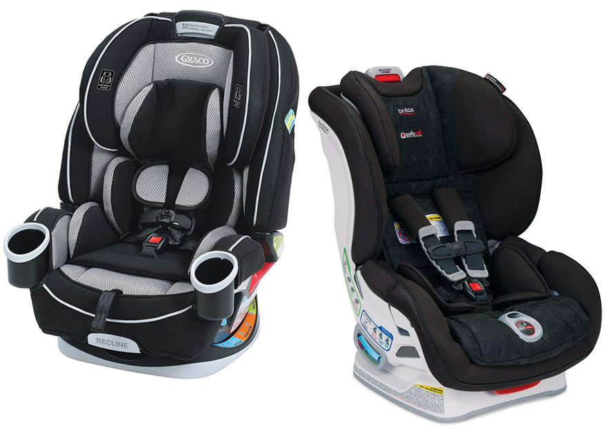 The Dimensions Of Each Car Seat Here Suitable Uses Graco 4Ever And Britax Boulevard