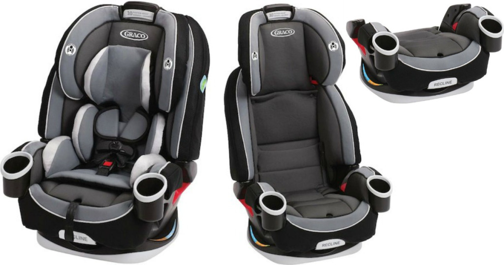 Graco 4Ever Extend2Fit Platinum 4 In 1 Convertible Car Seat Ottlie
