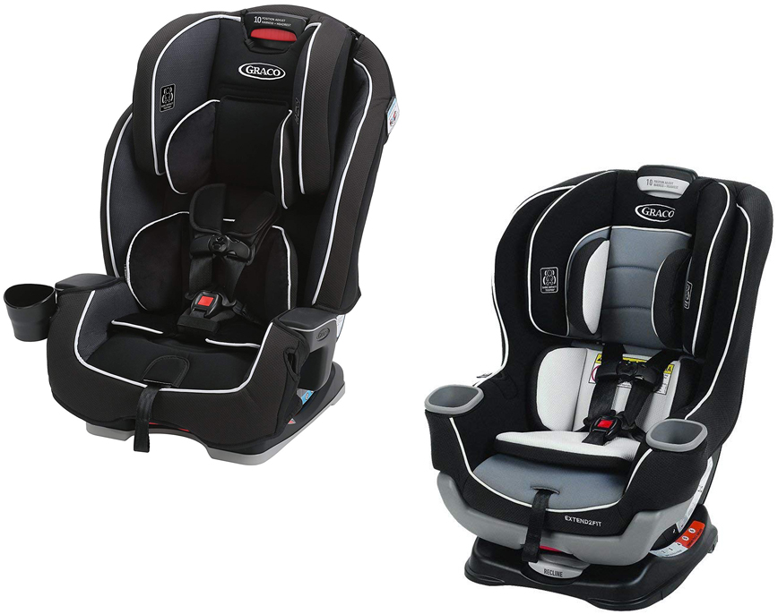 Do You Need A Car Seat What Are Graco Milestone And Extend2fit Look Like