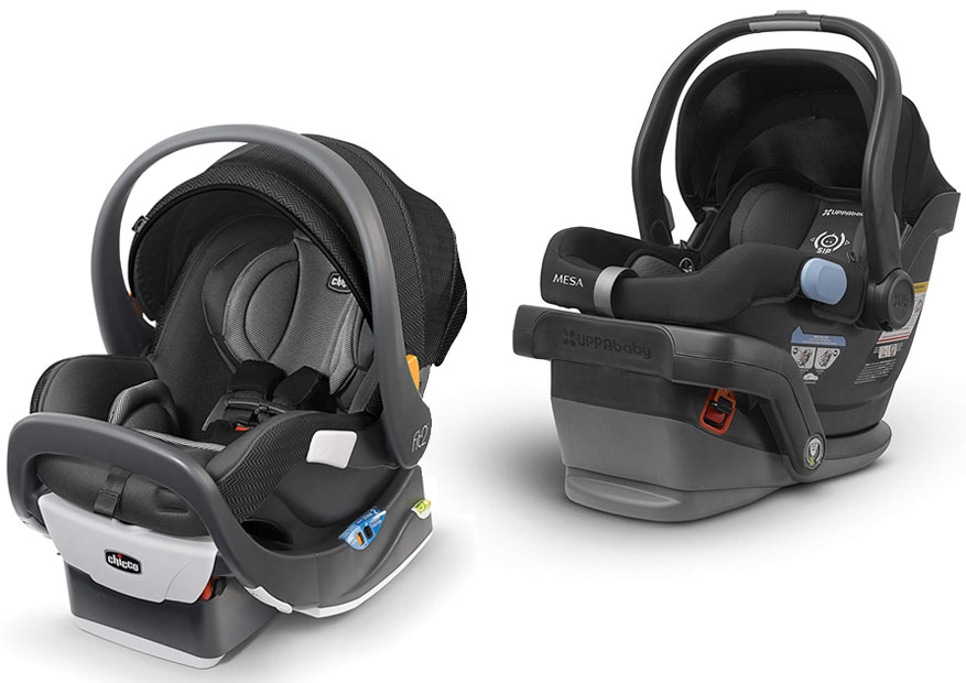 Chicco Fit2 Vs Uppababy Mesa Bestcarseatz