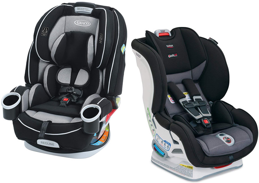 The Available Colors On Graco 4ever And Britax Marathon Comparison Of Their Size Weight Suitable Uses As Well Height