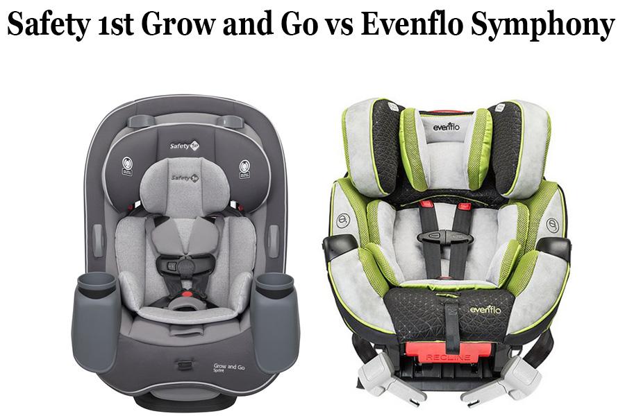 Safety 1st Grow And Go Vs Evenflo, Evenflo Vs Safety First Car Seats